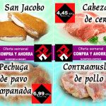Oferta – Superofertas en esta semana- Cabezada, contramuslos, San Jacobos y pechugas de pavo empanada – semana30.2015