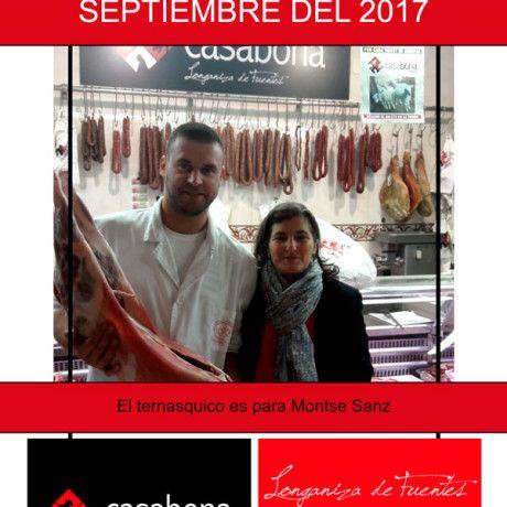 Carnicería Hermanos Casabona - Longaniza de Fuentes - Sorteo ternasco septiembre 2017