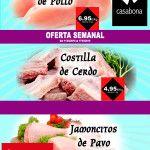 Oferta – Pechuga de Pollo, Costilla de Cerdo y Jamoncitos de Pavo – semana 11.2019