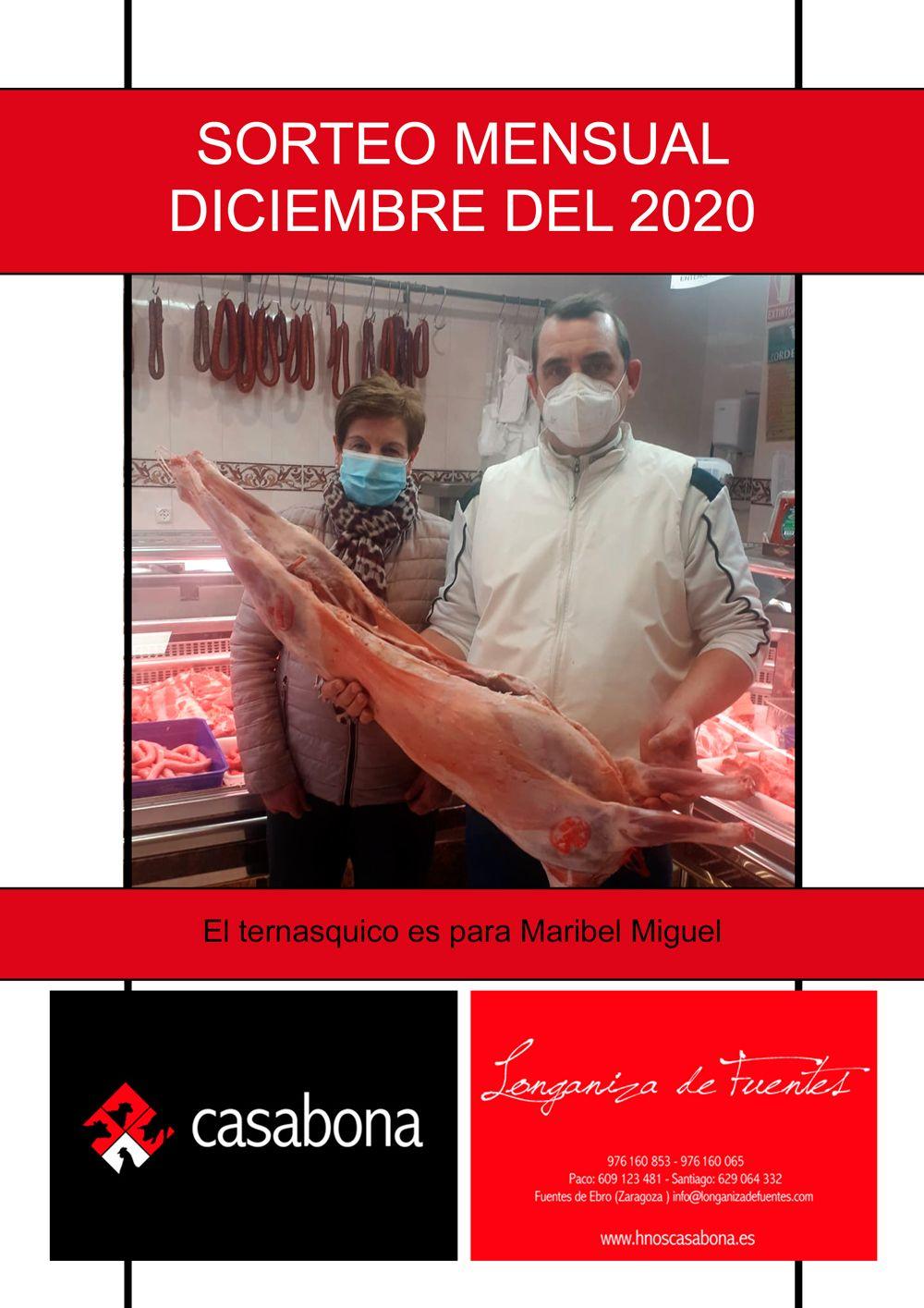 Carniceria Hermanos Casabona Longaniza de Fuentes Sorteo ternasco diciembre 2020